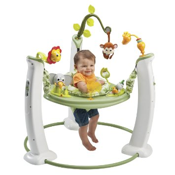 ExerSaucer Jump & Learn Stationary Jumper