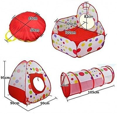 Kids Tent & Tunnel