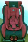 "Car Seat Red ""Pliko"""